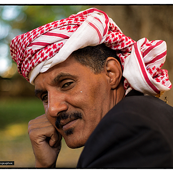 A real bedouin sheik | ZEISS ZM PLANAR F2.0 50MM <br> Click image for more details, Click <b>X</b> on top right of image to close