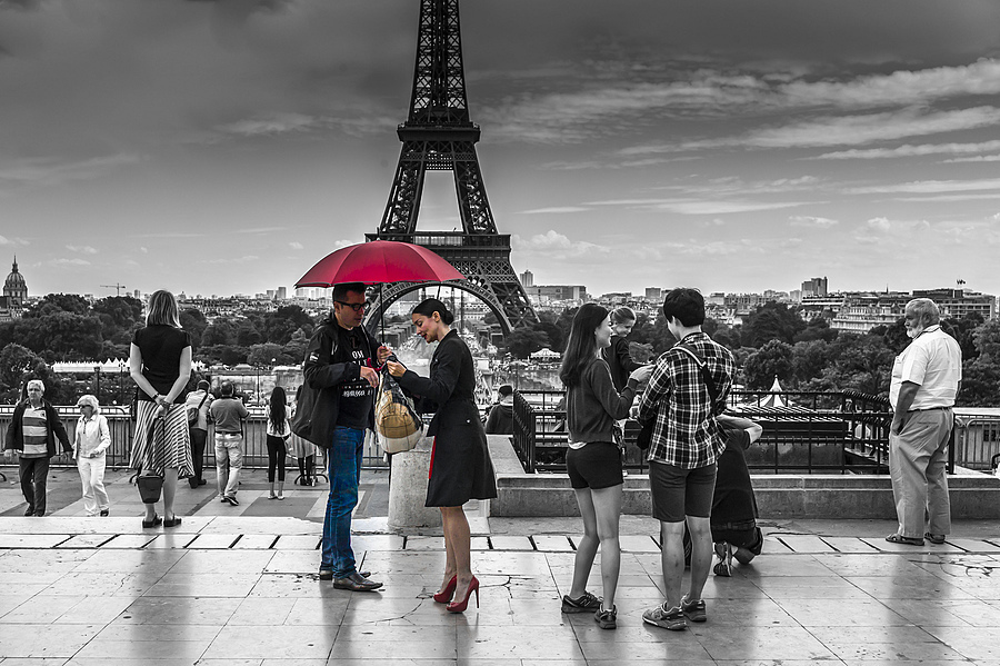 Red Umbrella after the Shoot | ZEISS ZM BIOGON F2.0 35MM <br> Click image for more details, Click <b>X</b> on top right of image to close