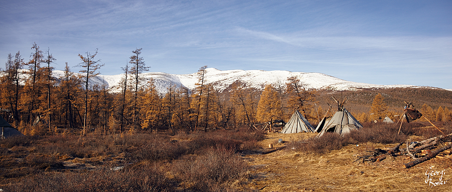 TSAATAN CAMP NEAR SIBERIA, MONGOLIA | ZEISS DISTAGON F2 25MM <br> Click image for more details, Click <b>X</b> on top right of image to close