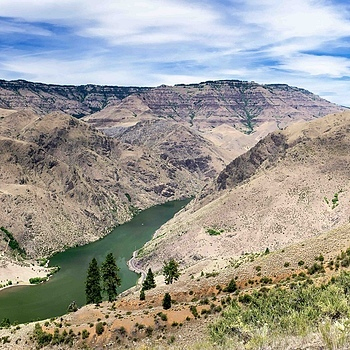 Composite image of Snake River/Hells Canyon | ZEISS DISTAGON F2.8 25MM