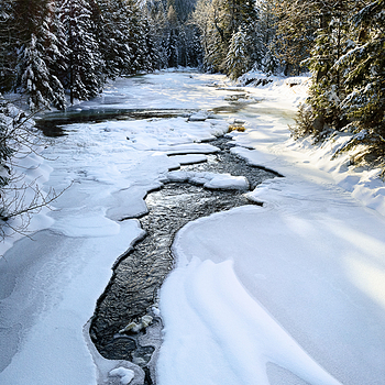 Winter on Lostine River, Oregon | ZEISS DISTAGON F2 28MM