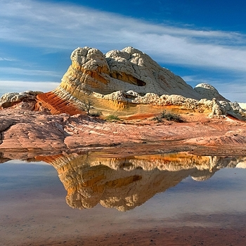 White Pocket Reflection, Vermillion Cliffs National Monument, Arizona | ZEISS DISTAGON F2.8 25MM