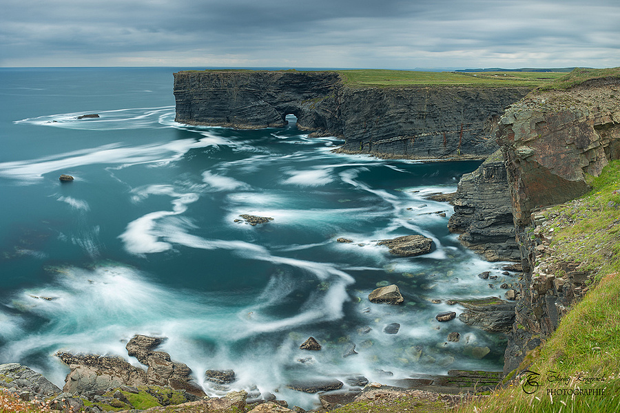 Cliffs of Kilkee, County Clare, Ireland . | ZEISS DISTAGON F1.4 35MM <br> Click image for more details, Click <b>X</b> on top right of image to close