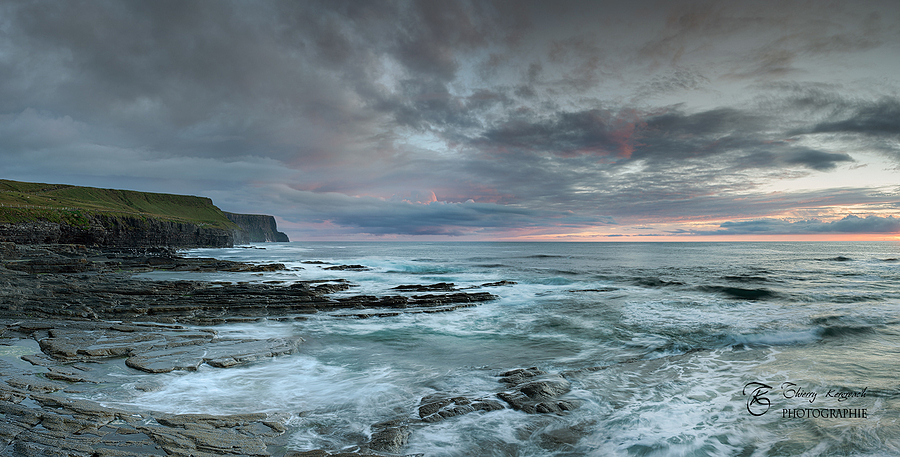 Cliffs of Moher, from Doolin coastline. | ZEISS DISTAGON F1.4 35MM <br> Click image for more details, Click <b>X</b> on top right of image to close