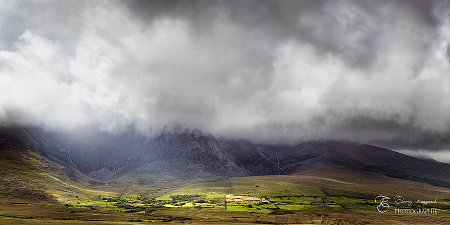 Brandon Peak, hidden in the clouds. Ireland | ZEISS CY MAKRO-PLANAR 60MM F2.8 <br> Click image for more details, Click <b>X</b> on top right of image to close