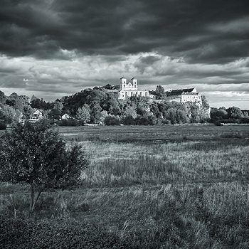 Monastery in Tyniec, Krakow, b&w | ZEISS DISTAGON F2.8 21MM <br> Click image for more details, Click <b>X</b> on top right of image to close