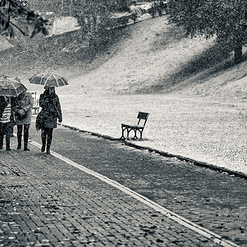 First snow in Krakow 1 | ZEISS APO SONNAR F2 135MM