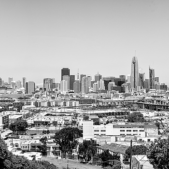 San Francisco Skyline - SOMA | ZEISS SONNAR 55MM F1.8 FE ZA <br> Click image for more details, Click <b>X</b> on top right of image to close