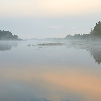 The Ladoga lake. Sunrise | ZEISS OTUS DISTAGON 55MM F1.4 <br> Click image for more details, Click <b>X</b> on top right of image to close