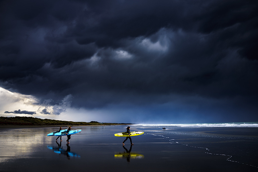 One last surf before the heavens open.... | ZEISS ZEISS SONNAR 35MM F2 <br> Click image for more details, Click <b>X</b> on top right of image to close