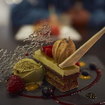 Green Tea Opera Cake -  Miku@Vancouver | ZEISS ZEISS SONNAR 35MM F2 <br> Click image for more details, Click <b>X</b> on top right of image to close