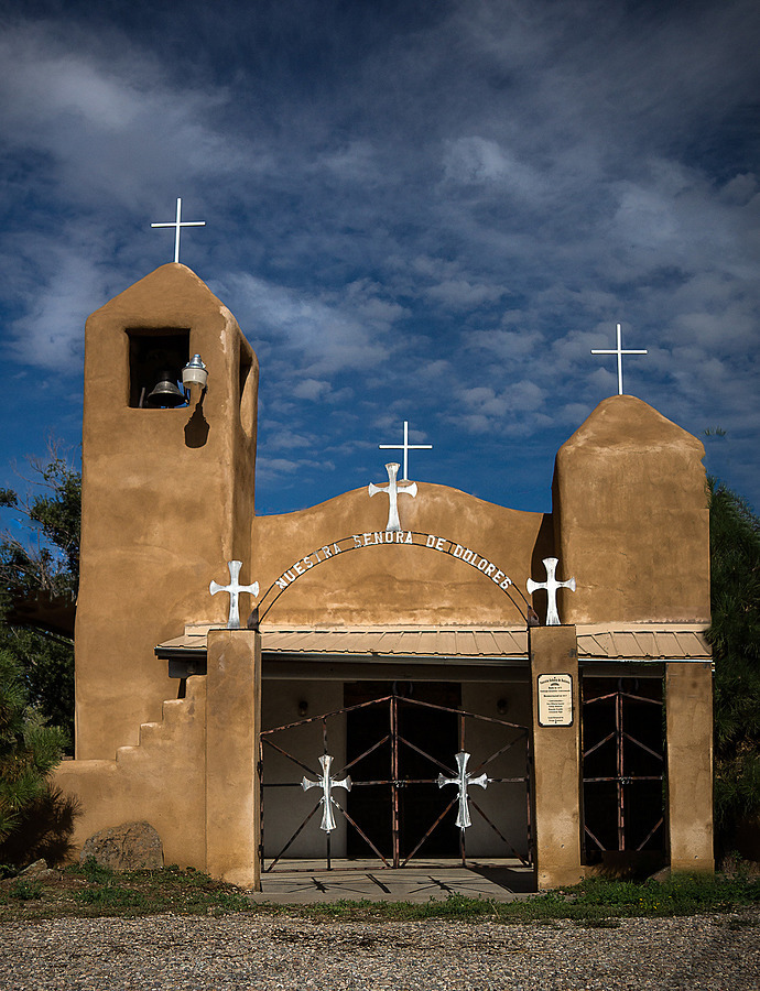 Señora de Dolores, Taos, New Mexico | ZEISS VARIO-TESSAR 16-70MM F4 ZOOM <br> Click image for more details, Click <b>X</b> on top right of image to close