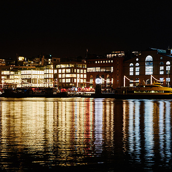 December night at the harbour | ZEISS FE 35MM F2.8 ZA <br> Click image for more details, Click <b>X</b> on top right of image to close