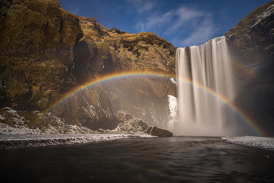 Skogafoss | ZEISS VARIO-TESSAR T* FE 16-35MM F4 ZA OSS <br> Click image for more details, Click <b>X</b> on top right of image to close