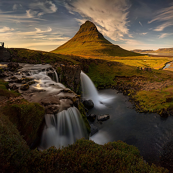 Kirkjufellsfoss | ZEISS VARIO-TESSAR T* FE 16-35MM F4 ZA OSS <br> Click image for more details, Click <b>X</b> on top right of image to close
