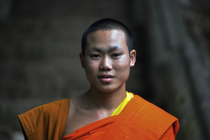 Novice Monk, Luang Prabang, Laos