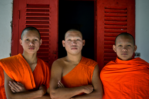 Three Buddhist Novices, Luang Pra