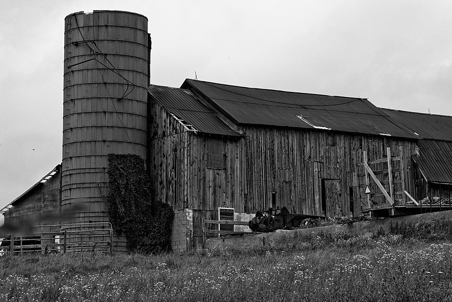 Old Barn | ZEISS APO SONNAR F2 135MM <br> Click image for more details, Click <b>X</b> on top right of image to close