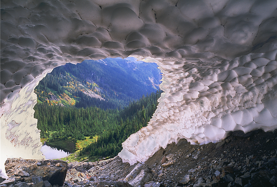 Ice Cave. Washington Cascades | LENS MODEL NOT SET <br> Click image for more details, Click <b>X</b> on top right of image to close