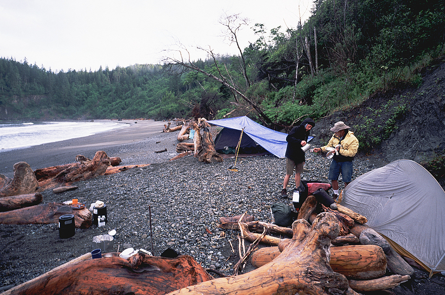 Beach Camp. Olympic nat. Park, Washingtoin. | LENS MODEL NOT SET <br> Click image for more details, Click <b>X</b> on top right of image to close
