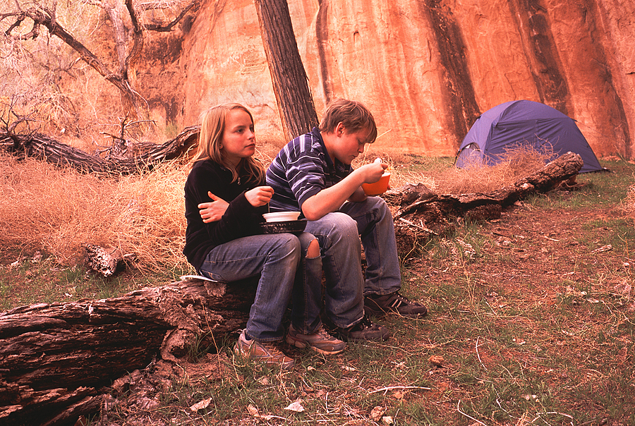Camp in Goyote Gulch, Grand Staircase-Escalante, Utah. | LENS MODEL NOT SET <br> Click image for more details, Click <b>X</b> on top right of image to close