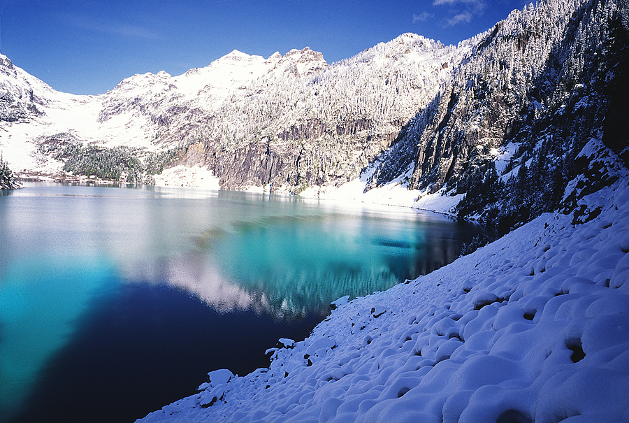 Blanca Lake. Washington Cascades. | LENS MODEL NOT SET <br> Click image for more details, Click <b>X</b> on top right of image to close