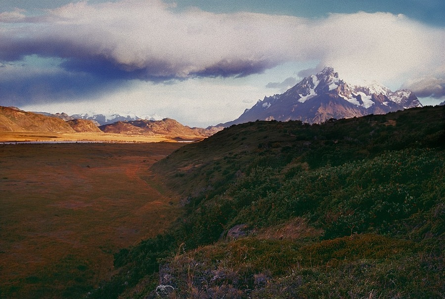 Approach to Paine Grande. Patagonia, Chile. | ZEISS ZM BIOGON F2.0 35MM <br> Click image for more details, Click <b>X</b> on top right of image to close