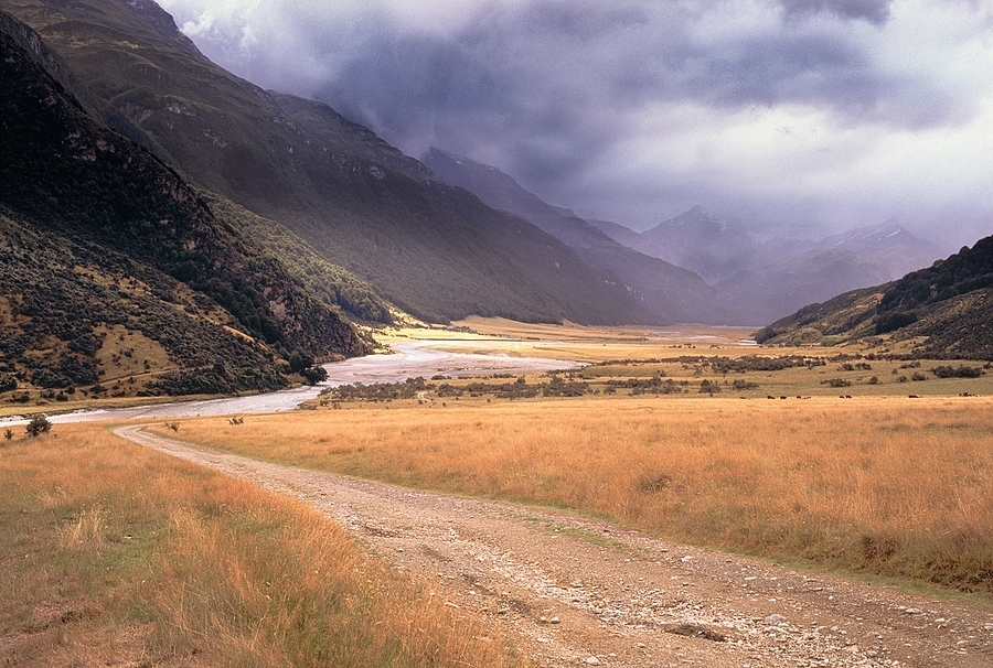 Rees Valley. New Zealand. | ZEISS ZM BIOGON F2.0 35MM <br> Click image for more details, Click <b>X</b> on top right of image to close
