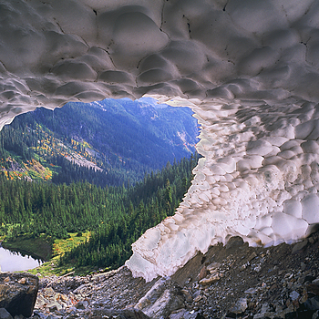 Ice Cave. Washington Cascades | LENS MODEL NOT SET