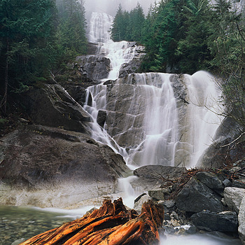 Tin Cup Joe Falls. Washington Cascades