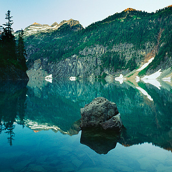 Blanca Lake. Washington Cascades. | ZEISS G BIOGON 21MM F2.8 <br> Click image for more details, Click <b>X</b> on top right of image to close