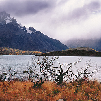 Lago Pehoe and Paine Grande. Patagonia, Chile. | ZEISS G PLANAR 35MM F2