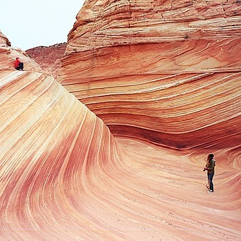 Inside The Wave. Coyote Butts, Utah/Arizona. | ZEISS G PLANAR 35MM F2
