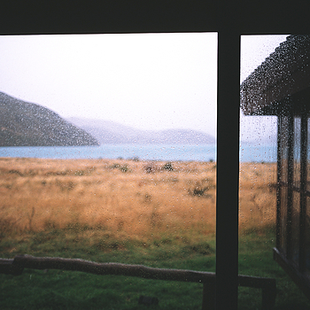 Rain, Rain, Rain. Paine Grande lodge. Patagonia, Chile. | ZEISS ZM BIOGON F2.0 35MM