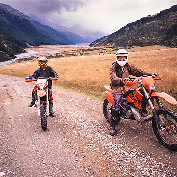Ben and Jake. Rees Track, New Zealand. | ZEISS G BIOGON 21MM F2.8 <br> Click image for more details, Click <b>X</b> on top right of image to close