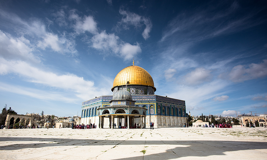 Dome of the Rock | ZEISS DISTAGON F3.5 18MM <br> Click image for more details, Click <b>X</b> on top right of image to close
