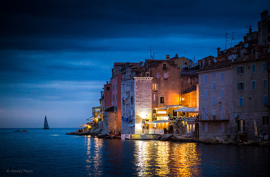 View of the evening Rovinj | ZEISS OTUS APO PLANAR 85MM F1.4 <br> Click image for more details, Click <b>X</b> on top right of image to close