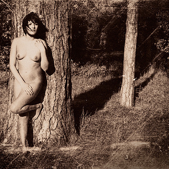Nude in the Woods | ZEISS CY PLANAR 50MM F1.4 <br> Click image for more details, Click <b>X</b> on top right of image to close