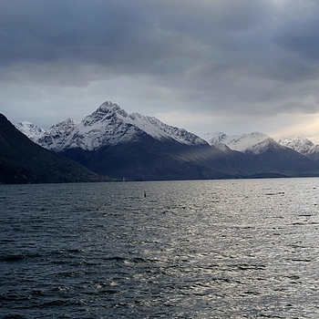 Shaft of Light on Lake Wakatipu