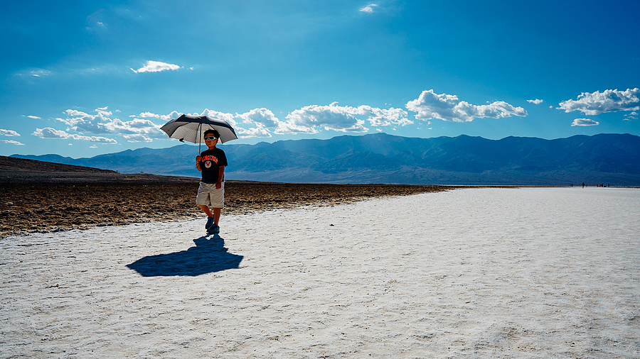 """Exploring Death Valley @ 110° F All By Himself"" 