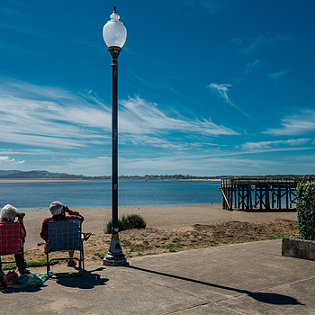 """Slow Day Here ..."", SW 51st St, Lincoln City, OR, USA 