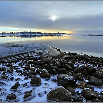 The Bay in Winter | LENS MODEL NOT SET <br> Click image for more details, Click <b>X</b> on top right of image to close