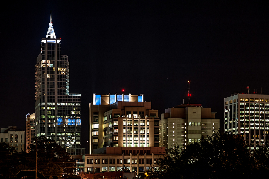 Raleigh at Night | ZEISS APO SONNAR F2 135MM <br> Click image for more details, Click <b>X</b> on top right of image to close