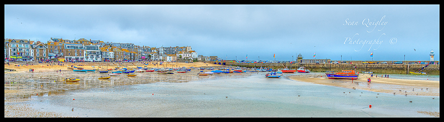 St Ives on a rainy day | ZEISS DISTAGON F2 25MM <br> Click image for more details, Click <b>X</b> on top right of image to close