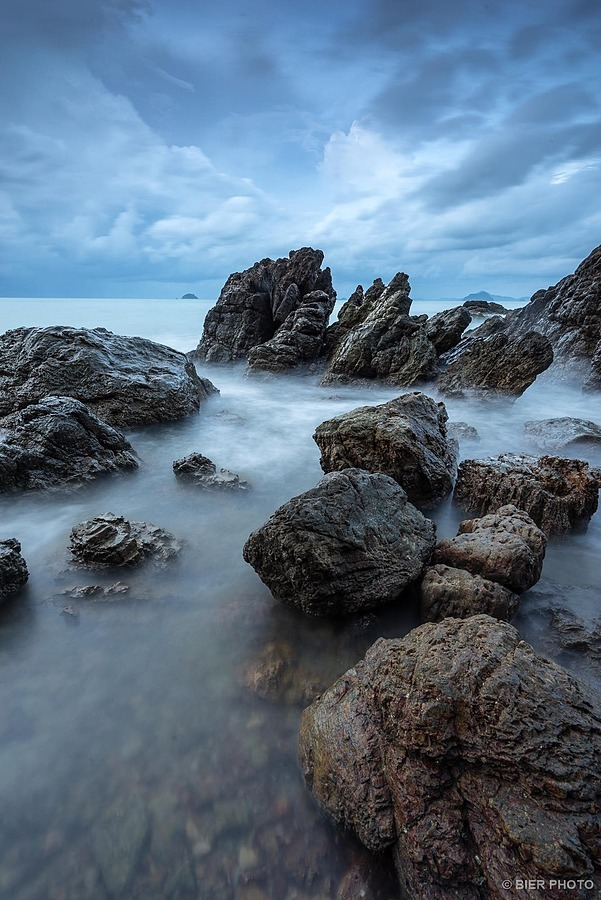 Seascape at Chumporn, Thailand | ZEISS VARIO-TESSAR T* FE 16-35MM F4 ZA OSS <br> Click image for more details, Click <b>X</b> on top right of image to close