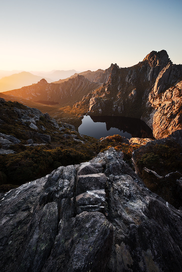 Square Lake, Southwest National Park, Tasmania | ZEISS VARIO-TESSAR T* FE 16-35MM F4 ZA OSS <br> Click image for more details, Click <b>X</b> on top right of image to close