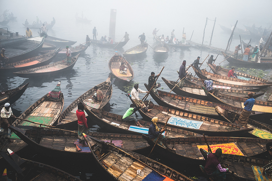 Boats of Buriganga | LENS MODEL NOT SET <br> Click image for more details, Click <b>X</b> on top right of image to close