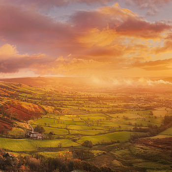 Sunrise at Mam Tor | LENS MODEL NOT SET <br> Click image for more details, Click <b>X</b> on top right of image to close