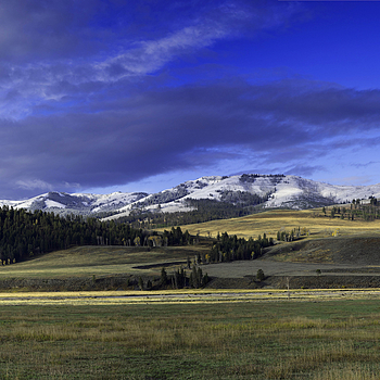Lamar Valley in Spring | ZEISS ZA VARIO-SONNAR F2.8 24–70MM <br> Click image for more details, Click <b>X</b> on top right of image to close