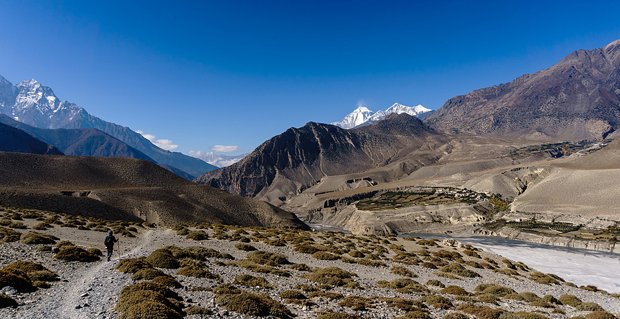 Over and beyond the mountains - Mustang, Nepal | LENS MODEL NOT SET <br> Click image for more details, Click <b>X</b> on top right of image to close